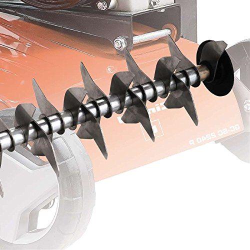 Einhell Messer im Benzin Vertikutierer Test