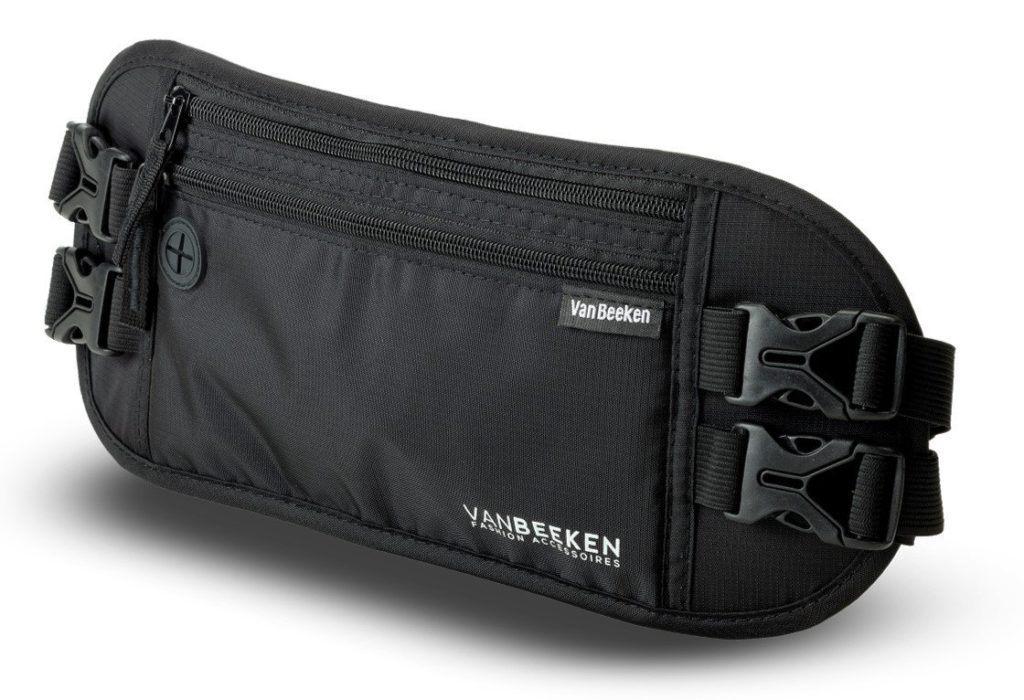 Flache Bauchtasche H%C3%BCfttasche Mit RFID Blocker.