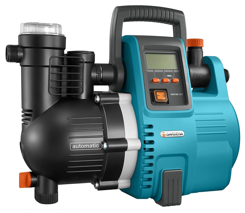 GARDENA Comfort Hauswasserautomat im Test 5000-5E Gartenpumpe im Test