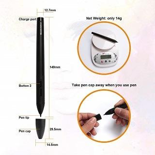 der Stift ist sehr hochwertig und stabil im Test