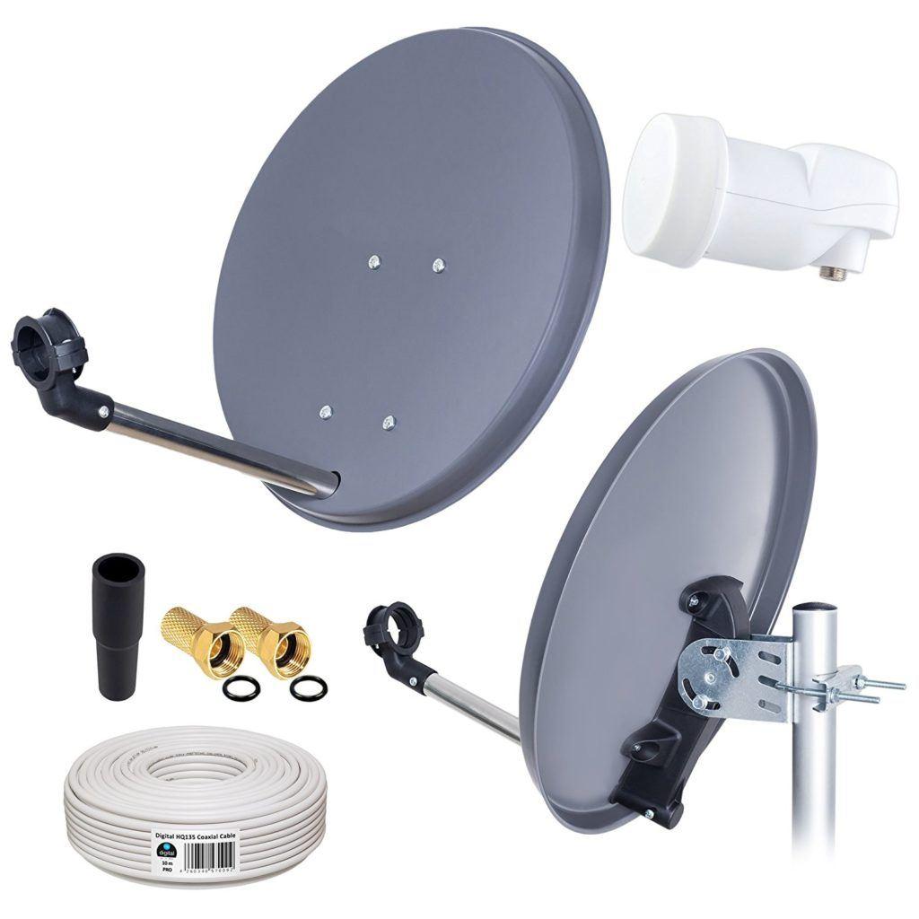 HB-DIGITAL Mini Sat Antenne mit Zubehör im Test
