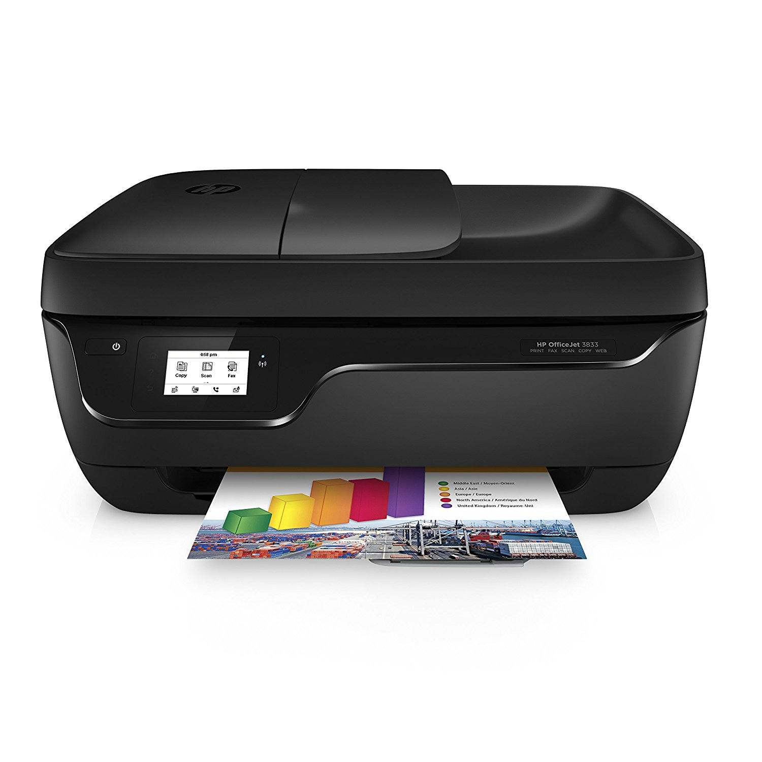 HP OfficeJet 3833 Multifunktionsdrucker