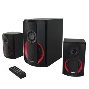 Hama 2.1 Soundsystem mit Fernbedienung