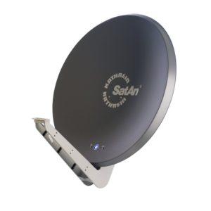 Kathrein CAS 90 SAT-Antenne, graphit, multifeedfähig