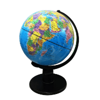 Bildung Drehbarer Globus