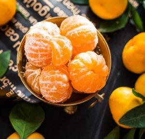 Lebensmittel Mandarinen Kühl-Gefrierkombination A+++