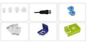 MEYLEE Super Mini In-Ear Digital Best Invisible Sound Enhancement Deaf Lautstärkeregler Einstellbare Ton Hörgeräte Aid Ear Assistance für ältere Gehörlose Gehörhörer Hören