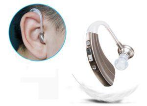 MEYLEE Super Mini In-Ear Digital Best Invisible Sound Enhancement Deaf Lautstärkeregler Einstellbare Ton Hörgeräte Aid Ear Assistance für ältere Gehörlose Gehörhörer Hören Hören