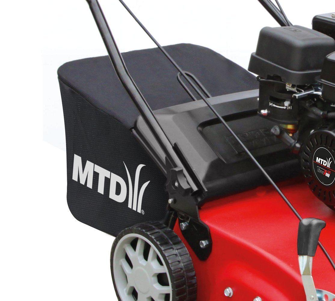MTD Seitenansicht im Benzin Vertikutierer Test