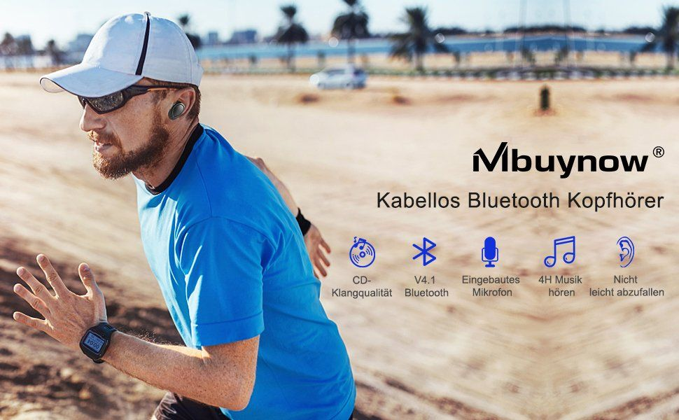 Mbuynow Bluetooth Kopfhörer in Ear test