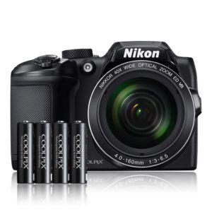 Mignon-Batterien (AA) für ca. 570 Aufnahmen