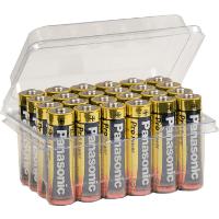 Panasonic Mignon AA LR6 Batterie Pro Power Alkaline in wns-emg-world Batteriebox, 24 Stück