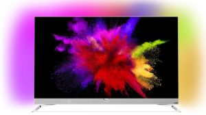 Philips 55POS901F 139 cm (55 Zoll) Fernseher (Ambilight, OLED 4K Ultra HD, Triple Tuner, Android TV) [Energieklasse B]