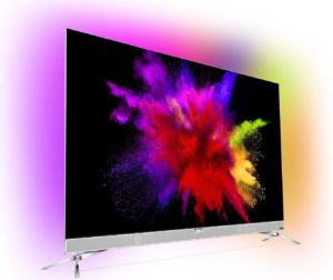 Philips 55POS901F 139 cm (55 Zoll) Fernseher (Ambilight, OLED 4K Ultra HD, Triple Tuner, Android TV) [Energieklasse B] test