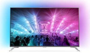 Philips 75PUS710112 189cm 75Zoll Fernseher Ambilight 4K Ultra HD Triple Tuner Android TV [Energieklasse A]