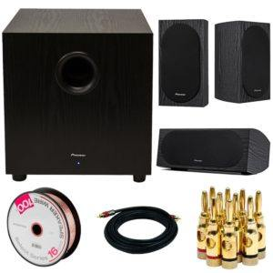Pioneer SW-10 400W Powered Subwoofer