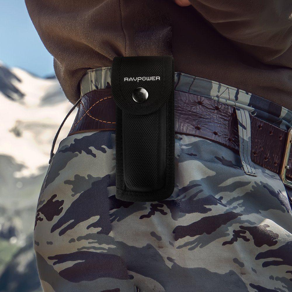 VPower 5-in-1 Multi-Tool Taschenmesser im Nylonetui