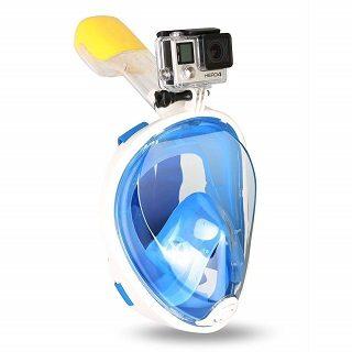 GoPro - Halterung bei der SWAMPLAND Tauchmaske