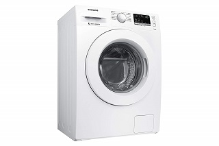 Die WW70J44A3MWEG Waschmaschine Frontlader von Samsung hat ein sehr schönes Design Test