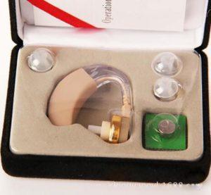 SczlSyl Älteres Hörgerät Mini Tonverstärker Lautsprecher Krankenhausspezifisch(einzelnes Ohr)