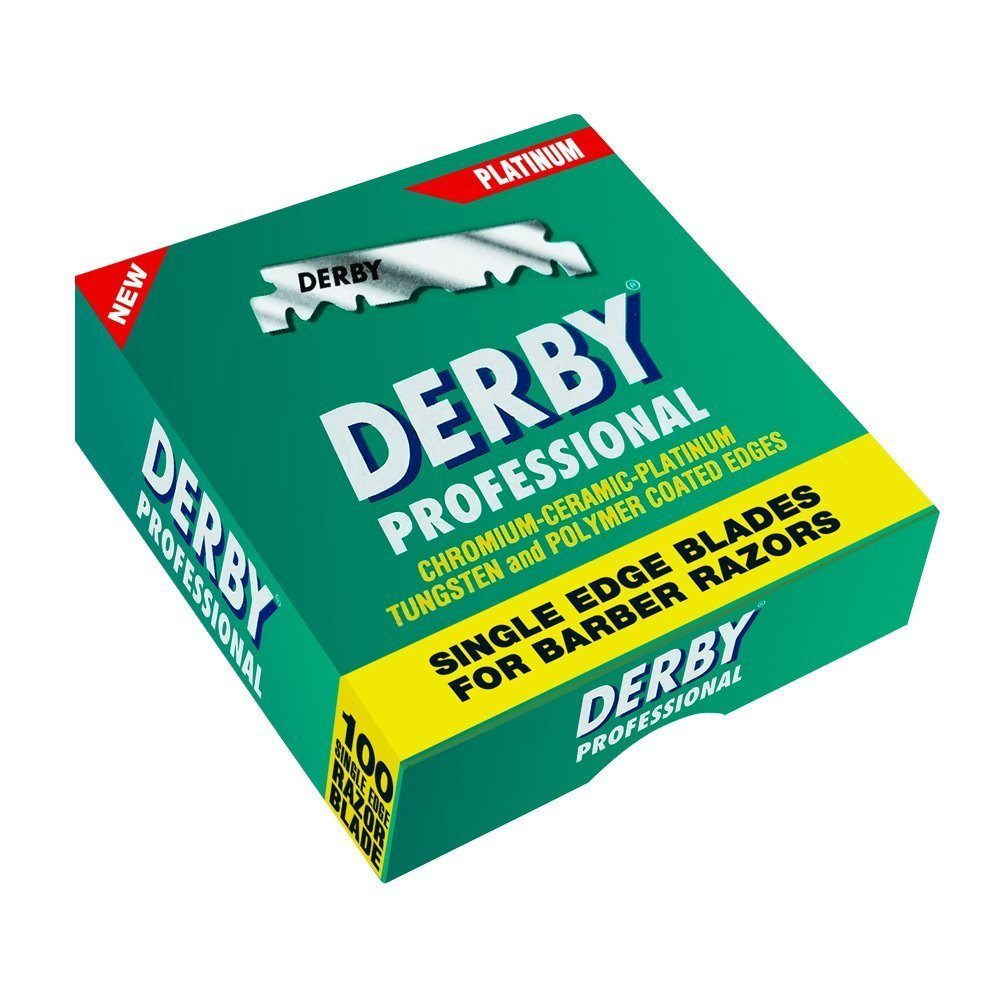 Shaving Factory Derby Rasierklingen Test in Verpackung