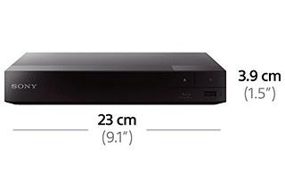 Dimension von Sony BDP-S1700 Blu-ray-Player im Test
