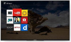 Sony KDL-32WD755 Fernseher Apps im Smart-TV Test