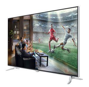 Telefunken XU65D401 165 cm (65 Zoll) Fernseher (4K Ultra HD, Triple Tuner, Smart TV) [Energieklasse A+]