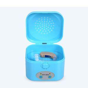 WAOBE Hearing Aid Luftentfeuchter - 4-8 Stunden Timer Elektronischer Trockner Tragbarer Trockner Hörgerät Trocknen Box