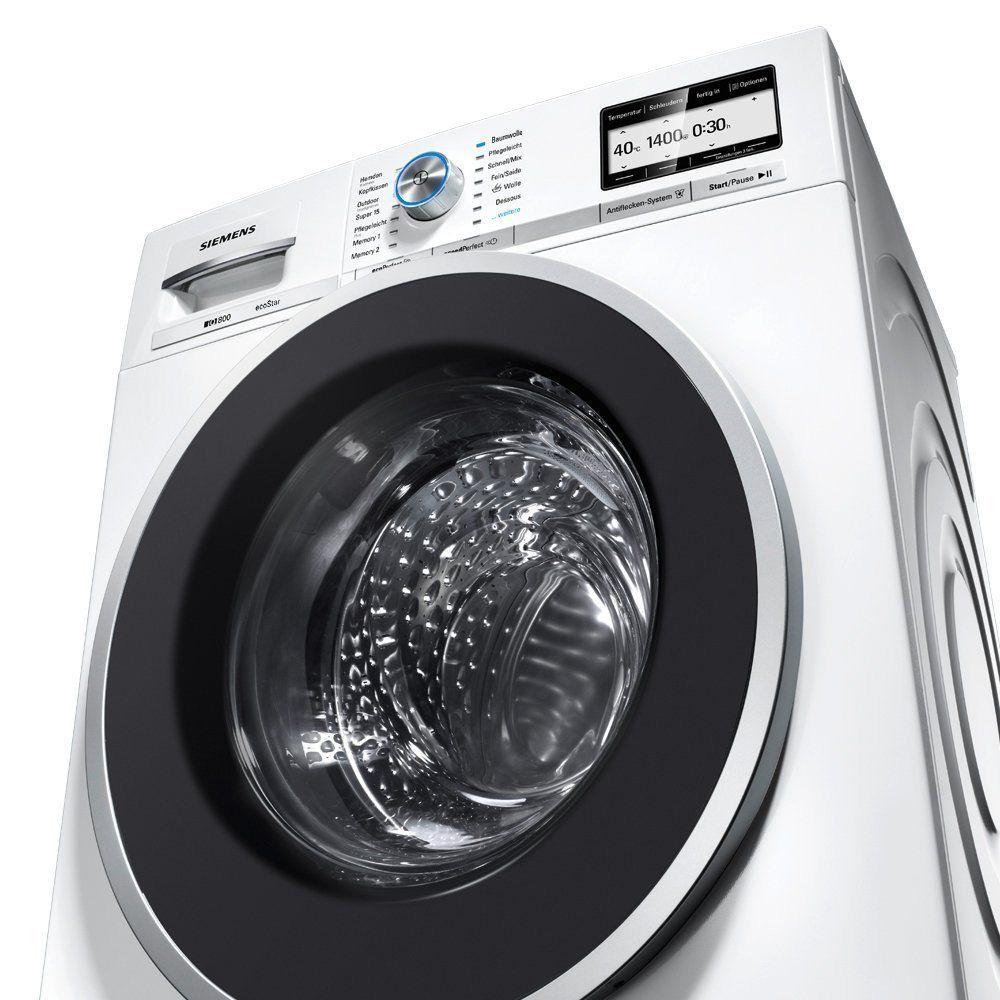 All Siemens washing machine types in front loader test