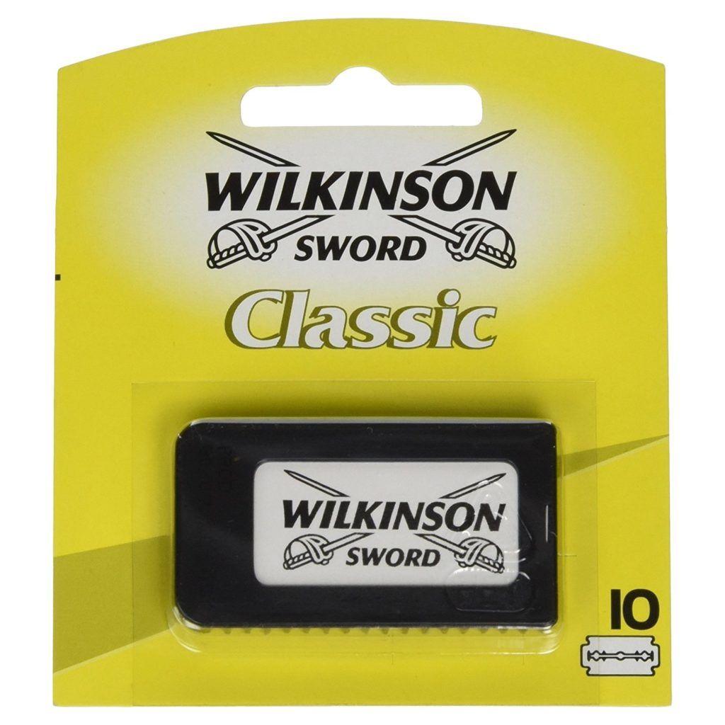 Wilkinson Sword Classic Rasierlingen im Test in Verpackung