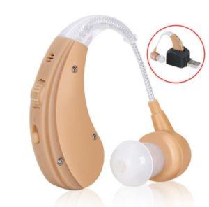XYLUCKY Wireless USB wiederaufladbare Digital hinter dem Ohr Hörgerät - passt sowohl links und rechts Ohren