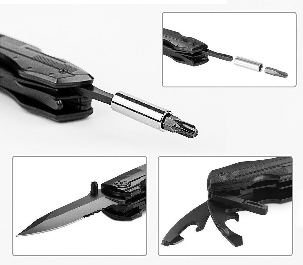 ZIMZIM Multi Tool Taschenmesser 5 In 1 Multi Tool Zangen Sets Taschenmesser Multifunktions Taschenwerkzeug 1