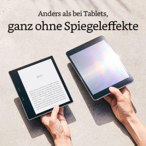 ebook reader im spiegeleffekt test