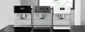 Kaffeevollautomaten von Miele in diversen Ausführungen