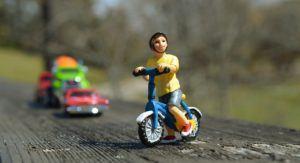 Kindefahrrad Erfindung