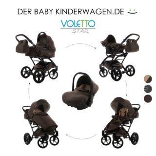 Der knorr-baby 3312-2 Voletto Set 3 in 1 braun im test und vergleich