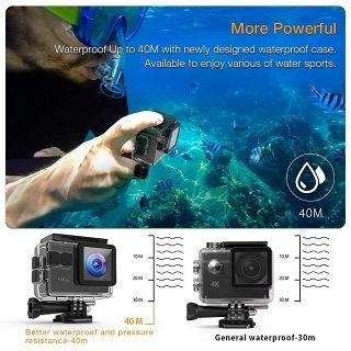 tauchen mit der APEMAN Unterwasserkamera im Test & Vergleich