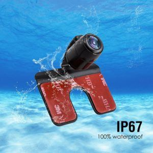 AUTO-VOX 3.5 LCD 2.4G Wireless Rückfahr-Kamerasystem Funk-Rückfahrkamera mit 165 Grad Weitwinkel