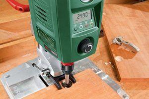 Bosch Tischbohrmaschine PBD 40 (Parallelanschlag, Schnellspannklemmen, Karton, 710 Watt) Leistung Standbohrmaschine