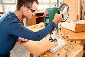 Bosch Tischbohrmaschine PBD 40 (Parallelanschlag, Schnellspannklemmen, Karton, 710 Watt) Standbohrmaschine Praxistest