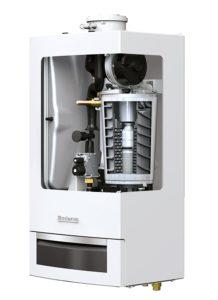 Buderus Gas-Brennwert-Heizung Heiztherme GB 172 20 kW Brennwert Gastherme Test