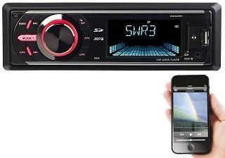 Das DAB Autoradio mit Bluetooth 1DIN von Creasono im Test und Vergleich