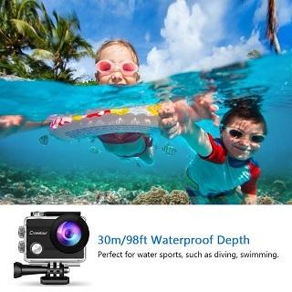 Crosstour VC-CT8000 Unterwasserkamera im Test & Vergleich