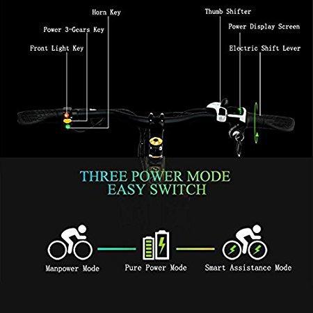 E-Mountainbike Test - zusätzliche Funktionen des E-Bikes im Überblick