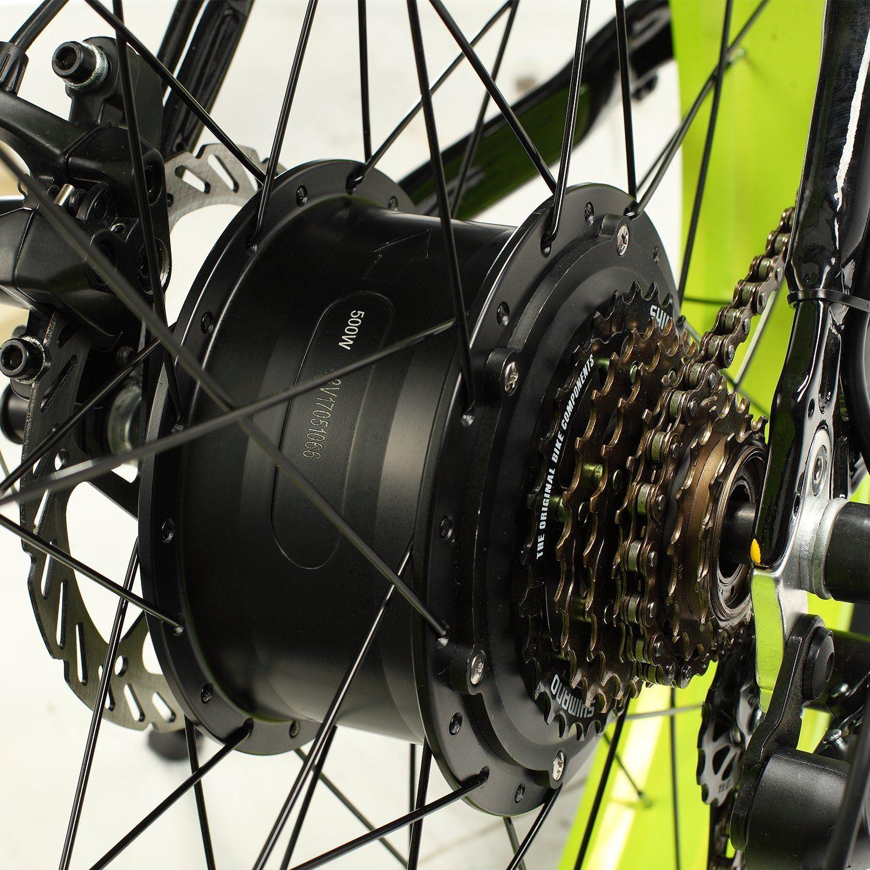 E-Mountainbike Test - Hinterrad des E-Bikes