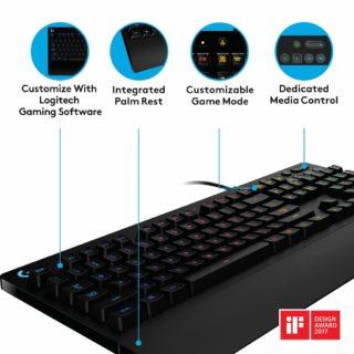 Logitech G213Mechanische Tastatur: Eigenschaften, Test und Vergleich