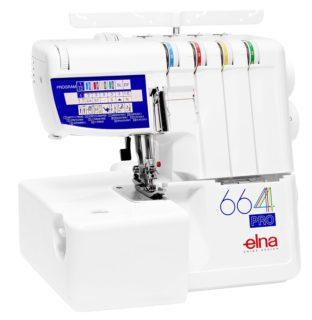 Die Elna 664 Overlock Nähmaschine im test und vergleich