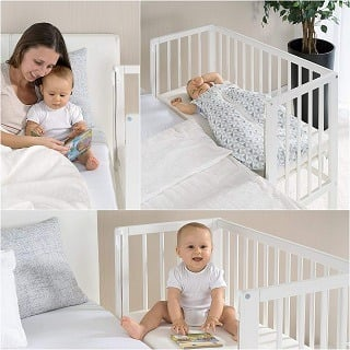 Verstellbarkeit von Fillikid Babybett Vario im Test