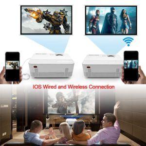 Full HD Beamer Test:Konnektivität und Bedienung: